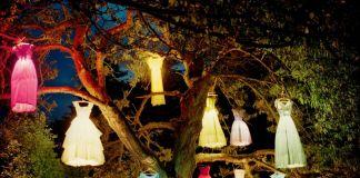 Tim Walker, The Dress Lamp Tree, England 2002, 2002, Copyright © Tim Walker, Courtesy of Steven and Catherine Fink