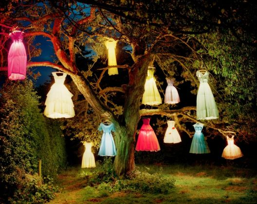 Tim Walker, The Dress Lamp Tree, England 2002, 2002, Copyright © Tim Walker, Courtesy of Steven and Catherine Fink