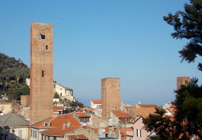Torri di Noli in Liguria