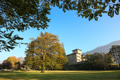 Parco castello Gamba (foto Enrico Romanzi)