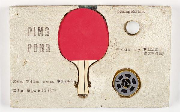 Valie Export, Ping Pong Kassette, 1968, Generali Foundation Collection Permanent Loan to the Museum der Moderne Salzurg, credit VBK, Photo Werner Kaligofsky