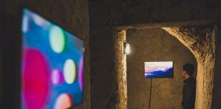 Vincenzo Frattini. La dipendenza sensibile alle condizioni iniziali. Exhibition view at Castello Aragonese d'Ischia, Napoli 2018. Photo Marco Albanelli