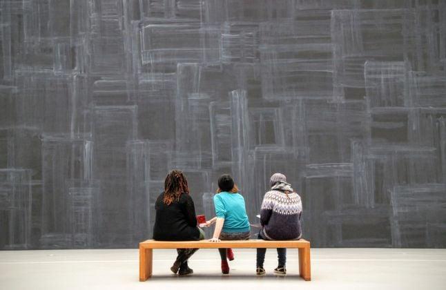 Visitatori al museo