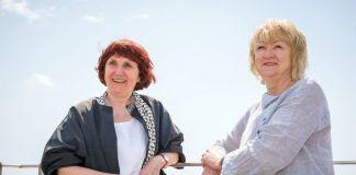 Yvonne Farrell e Shelley McNamara. Photo Andrea Avezzù. Courtesy of La Biennale di Venezia