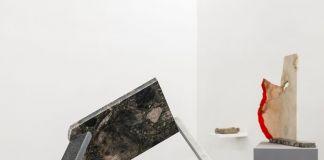 Zaelia Bishop. Uranio, Cemento e Grafite. Exhibition view at AlbumArte, Roma 2018. Photo Sebastiano Luciano. Courtesy AlbumArte