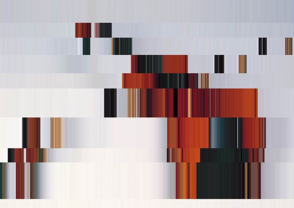 Chiariello violino (10 linee orizzontali) Home Gallery, Napoli 2018