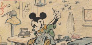 Brave Little Tailor, 1938. Disney Studio Artist. Story sketch. Colored pencil and graphite on paper © Disney Enterprises Inc.