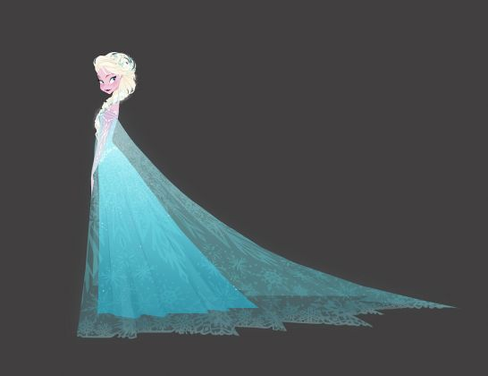 Frozen, 2013. Brittney Lee. Concept art. Digital painting © Disney Enterprises Inc.
