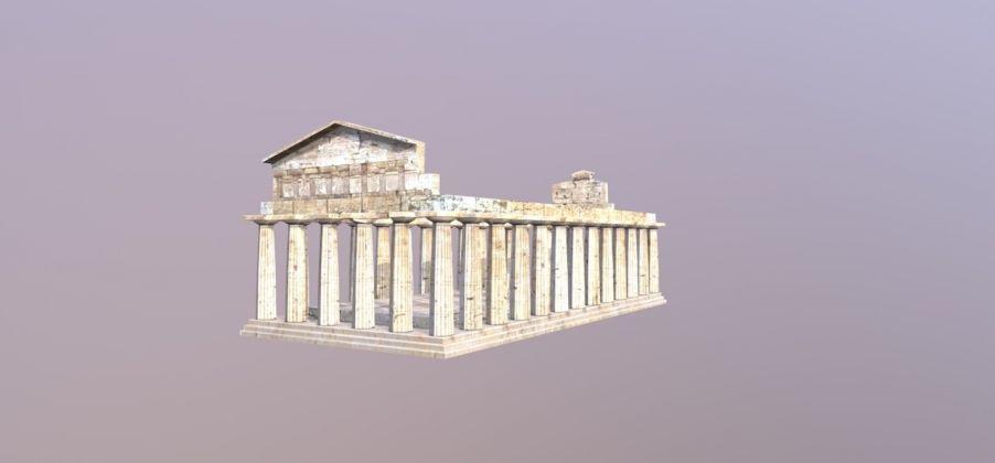 Tempio Cerere Paestum