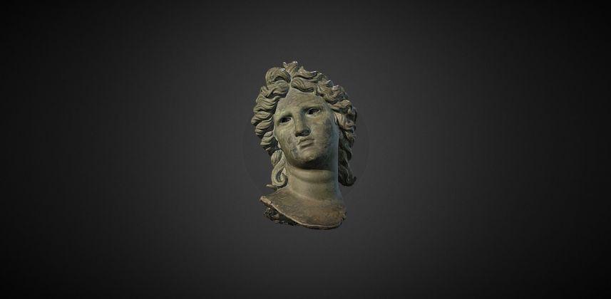 Testa Apollo Museo Archeologico Salerno