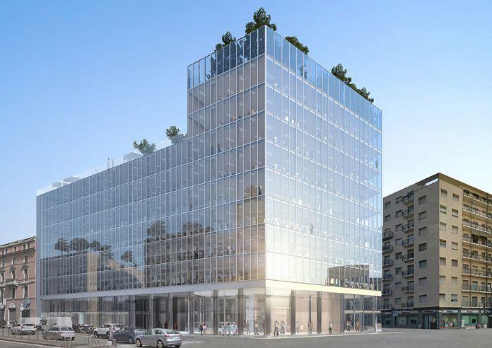 GBPA Architects, Palazzo di Fuoco. Piazzale Loreto, Milano - Vista Viale Monza. Courtesy GBPA Architects
