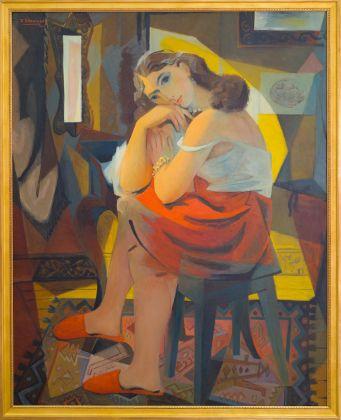 Theodore Strawinsky, Giovane donna, La Trasfigurazione Poetica a Domodossola: Théodore Strawinsky