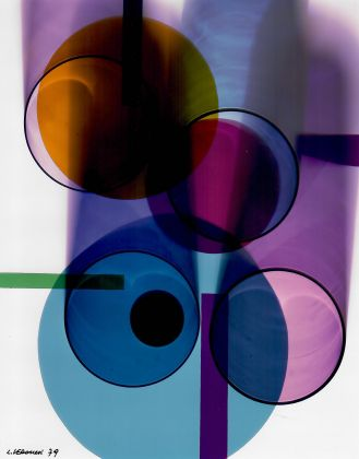 LUIGI VERONESI Senza titolo, 1979 fotogramma, stampa alla gelatina ai sali d'€™argento, 23,6x18,5 cm courtesy 10 A.M.ART, Milano