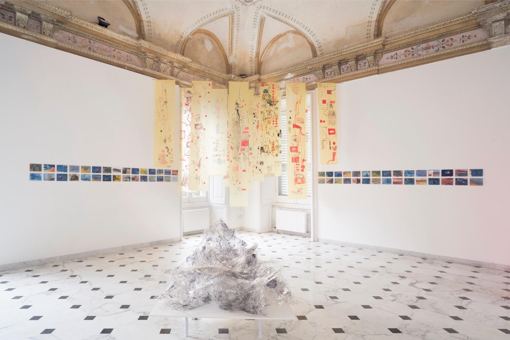 Elisa Montessori, veduta installazione, Vita morte miracoli. Courtesy dell'artista e Galleria Monitor