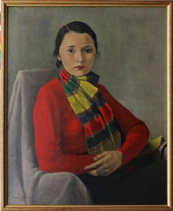 Theodore Strawinsky Portrait de Mademoiselle Denise Guerzoni