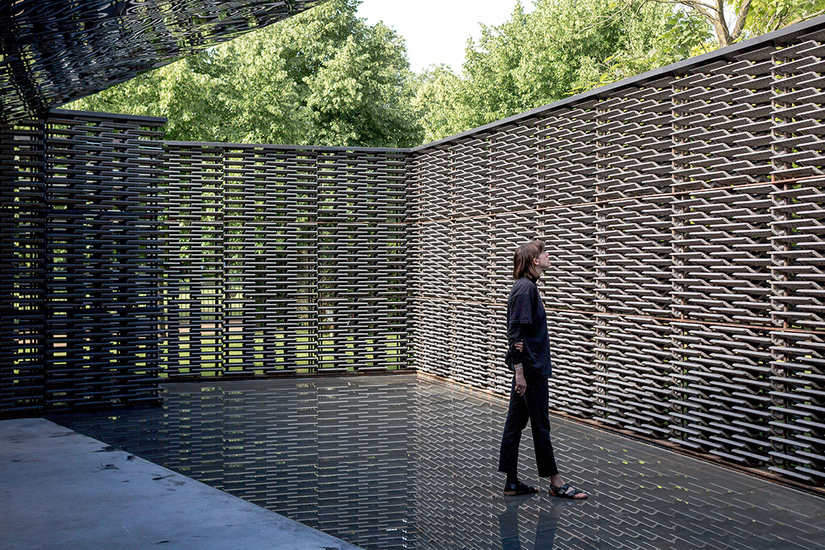 Frida Escobedo, Serpentine Pavilion 2018, London © Norbert Tukaj