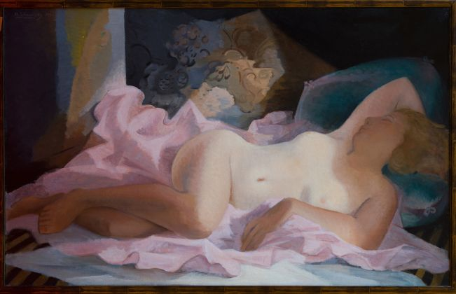 Theodore Strawinsky Nudo disteso