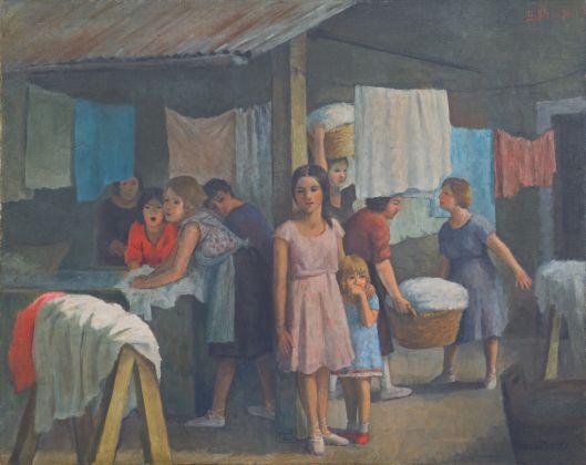 Theodore Strawinsky, Le lavandaie