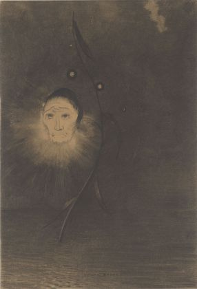 Odilon Redon, La fleur du marécage circa 1884-1885