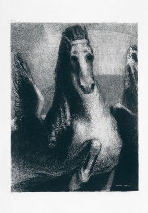 Odilon Redon, L'aile, 1893