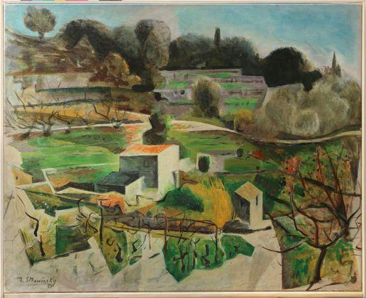 Theodore Strawinsky, Paesaggio Le Biot
