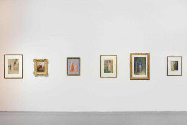 Odilon Redon. La littérature et la musique, exhibition view at Kröller-Müller Museum, Otterlo 2018, photo Marjon Gemmeke
