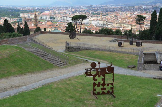 Mostra Gong. Eliseo Mattiacci, Forte di Belvedere, Firenze. Ph Valentina Silvestrini