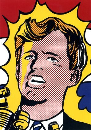Roy Lichtenstein, Bob Kennedy, 1968