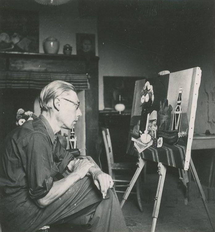 Theodore Strawinsky, Theodore che lavora a Les zinnias