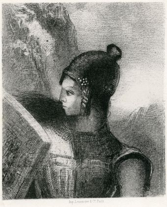 Odilon Redon, Brünnhilde, 1885