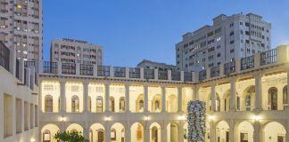555 Pillar, 2016. Installation view, Sharjah Art Foundation, Hassan Sharif, I Am The Single Work Artist, 2017. Courtesy of Hassan Sharif Estate