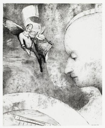 Odilon Redon, L'art céleste, 1894