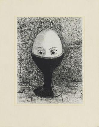 Odilon Redon, L'œuf, 1885