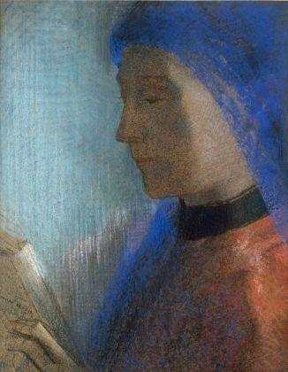 Odilon Redon, La liseuse, circa 1895-1900