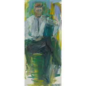Elaine de Kooning, Robert F. Kennedy, 1963