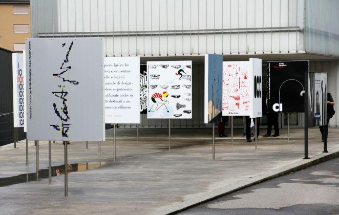 Achille Castiglioni (1918–2002) visionario. L'alfabeto allestitivo di un designer regista. Exhibition view at M.A.X. museo, Chiasso 2018. Photo Guido Santinelli