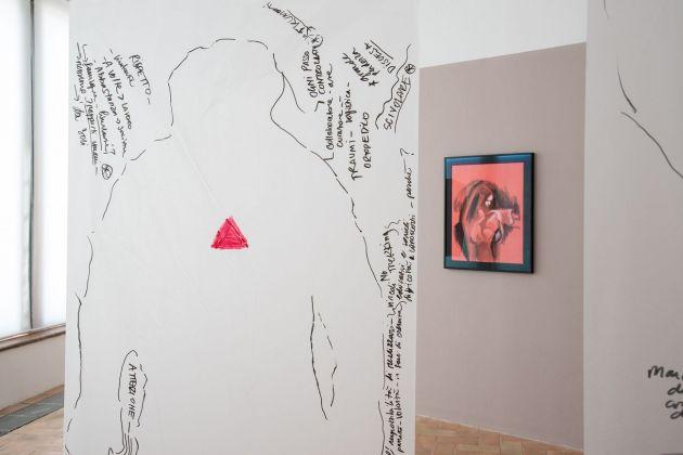 Adelita Husni-Bey. Adunanza. Exhibition view at Galleria Civica, Palazzina dei Giardini, Modena 2018. Photo Rolando Paolo Guerzoni