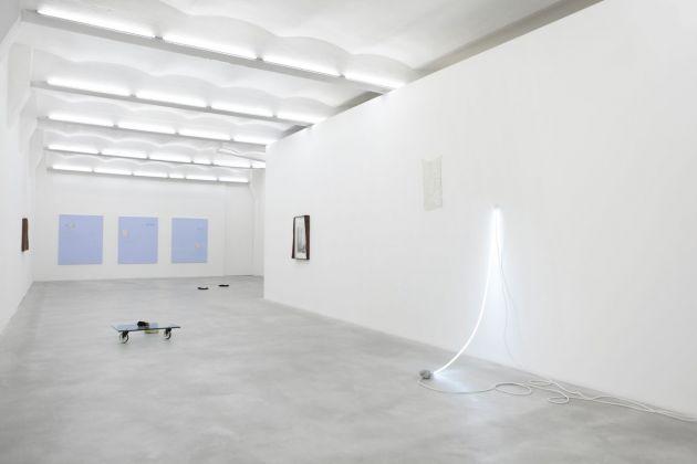 Adriano Amaral, Oto Gillen, Ajay Kurian, K.r.m. Mooney, Mohamed Namou, Eric Velt, Flet, 2014, exhibition view, SpazioA, Pistoia