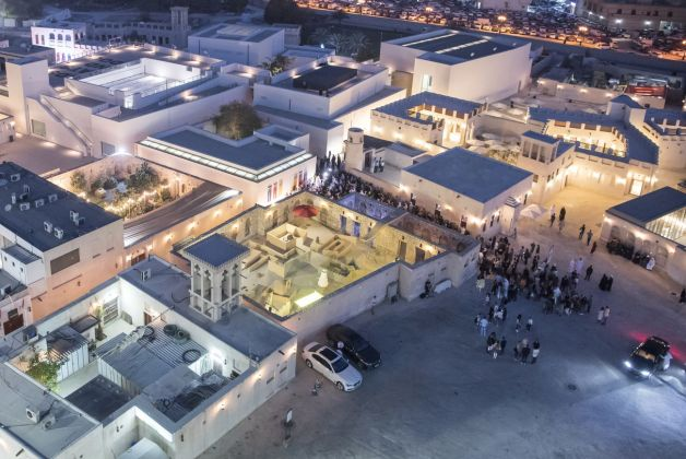Al Mureijah Square, 2017. Aerial View. Image courtesy of Sharjah Art Foundation