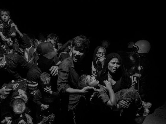 Alex Majoli, Scene# 0410, Greece, 2015, Lesbos © Alex Majoli