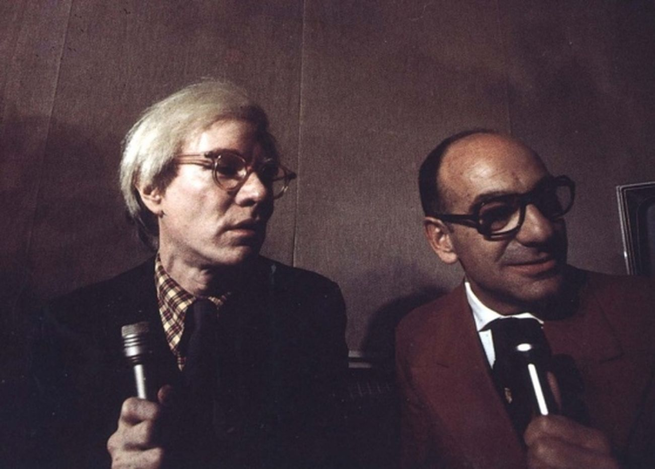 Andy Warhol e Franco Farina