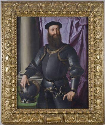 Angelo di Cosimo Tori detto Bronzino, Ritratto di Stefano IV Colonna. Roma, Gallerie Nazionali Barberini Corsini