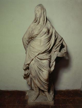 Antonio Corradini, Vestale Tuccia (la Velata). Roma, Gallerie Nazionali Barberini Corsini