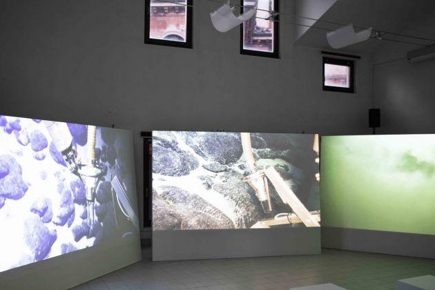 Armin Linke. Prospecting Ocean. Installation view at Istituto di Scienze Marine, Venezia 2018. Photo Giulia Bruno 2018