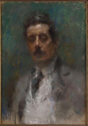 Arturo Rietti, Ritratto di Giacomo Puccini, 1906. Teatro dell'Opera di Roma, Archivio Storico. Photo Riccardo Ragazzi