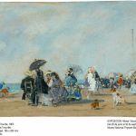 Boudin, En la Playa de Trouville, 1863