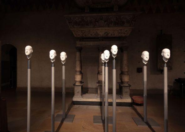 Barry X Ball. The End of History. Exhibition view at Villa Panza, Varese 2018. Photo Roberto Mascaroni, © Saporetti Immagini d'arte