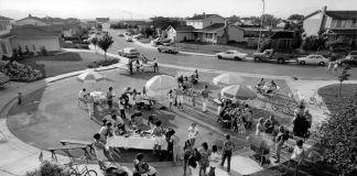 Bill Owens, Party East Bay, dalla serie Suburbia, 1972