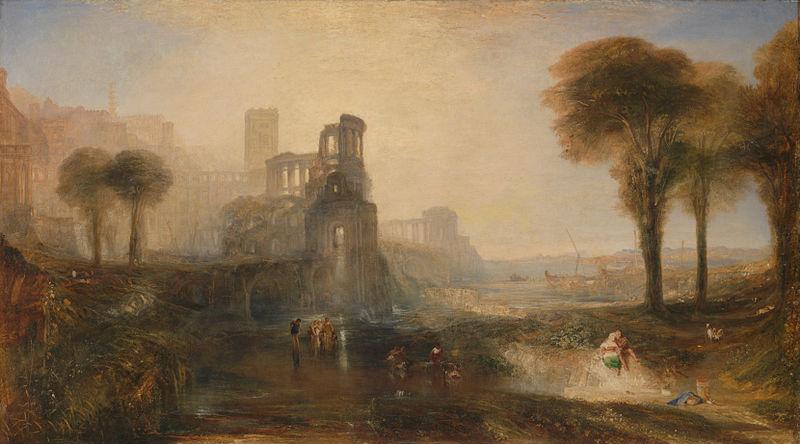 Caligula's Palace and Bridge, 1881
