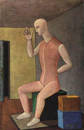 Carlo Carrà, L'idolo ermafrodito, 1917